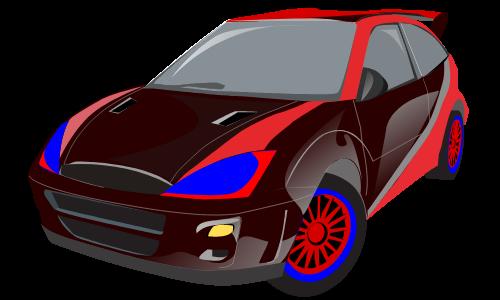 форд гоночный рисунок