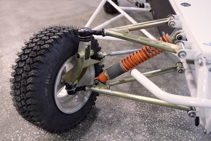 колесо и полуось багги