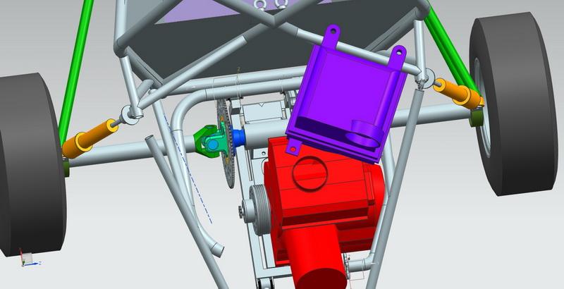 3D выхлопная система