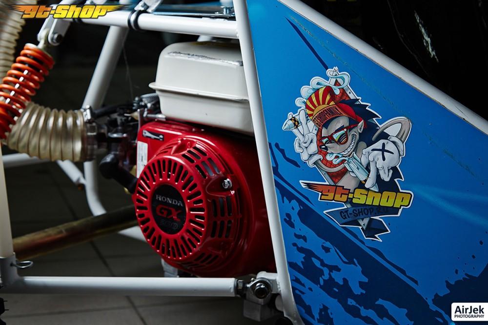 д3-мини багги синий мотор и генератор